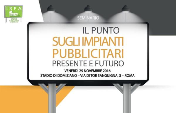 """L'Avvocato Nicoletta Tradardi interviene al seminario """"Il punto sugli impianti pubblicitari, presente e futuro"""""""