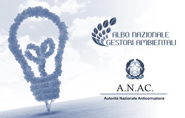 Albo Nazionale dei Gestori Ambientali: l'ANAC sposa la tesi del Consiglio di Stato