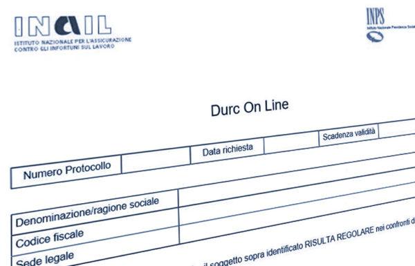 La valenza del Documento Unico di Regolarità Contributiva nelle procedure concorsuali e la regolarità contributiva come conditio sine qua non di partecipazione